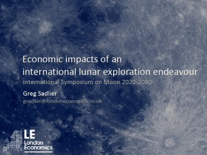 Moon 2020-30 Economic impacts of an international lunar exploration